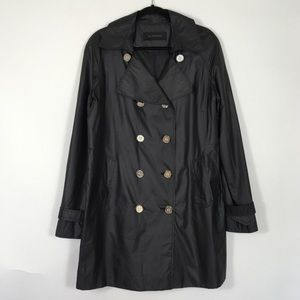 ELIE Tahari Trench Double Breasted Coat